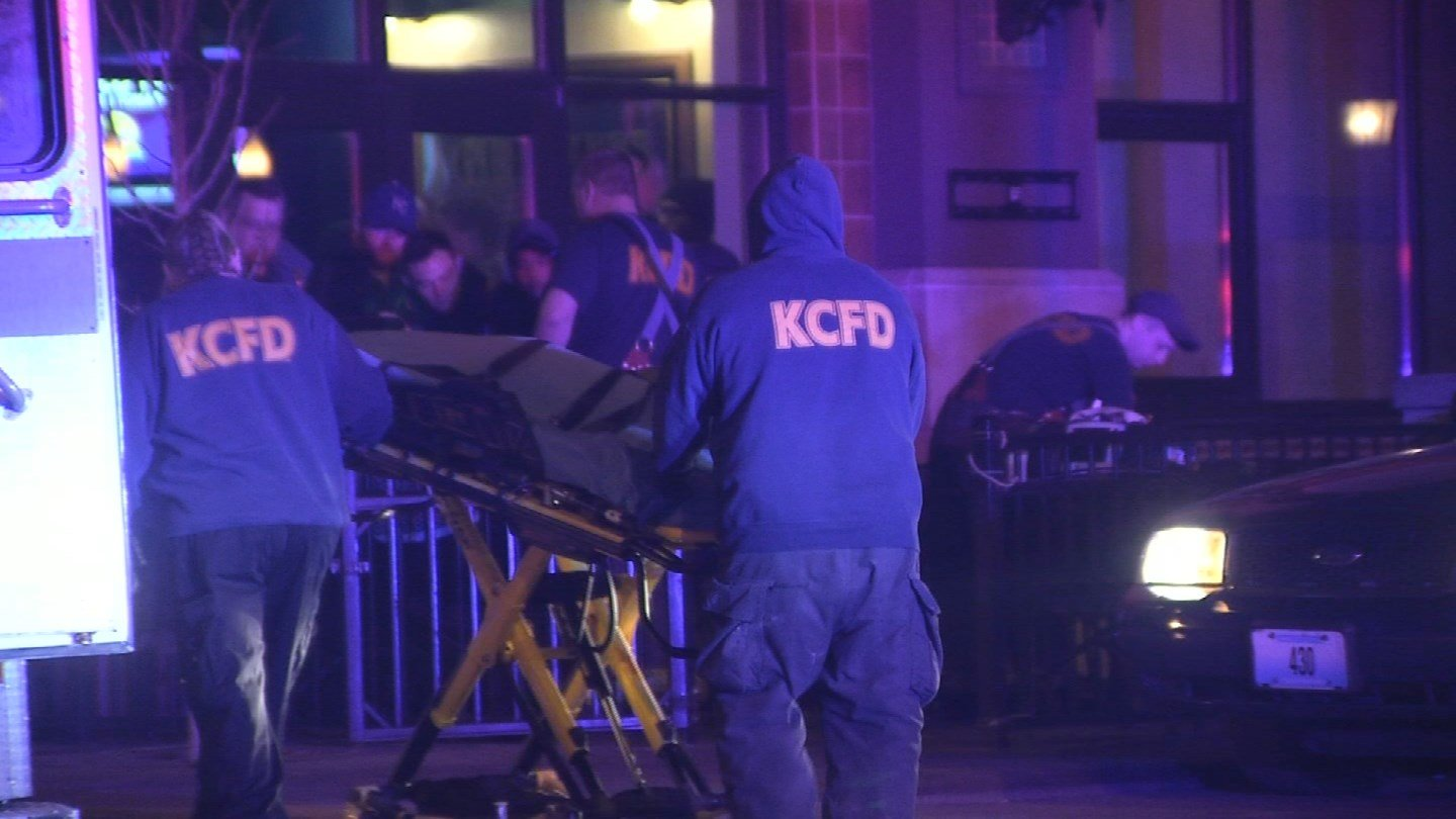 The shooting happened near Ward Parkway and JeffersonStreet just before 2 a.m. Thursday. (KCTV5)