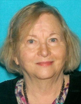 Lenexa police issued a Silver Alert for 75-year-old Georgia R. Miner. She has not had contact with relatives or friends since March 2. (Lenexa PD)