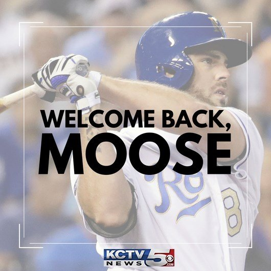 The Kansas City Royals have signed third baseman Mike Moustakas to a one-year contract with a mutual option for the 2019 season. (KCTV5)