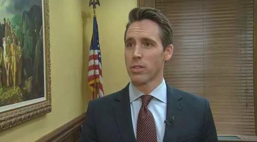 (File photo of Missouri Attorney General Josh Hawley)