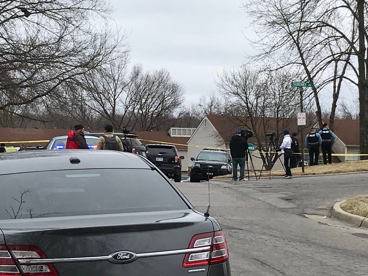 Police are investigating what they're calling the city's latest homicide at 63rd Street and Tauromee Avenue. (Dwain Crispill/KCTV5 News)