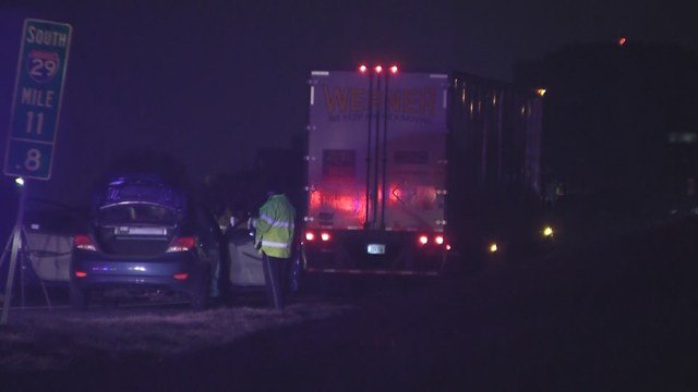 It happened at about 1:55a.m. on southbound Interstate 29, south of 112th Street. (KCTV5)