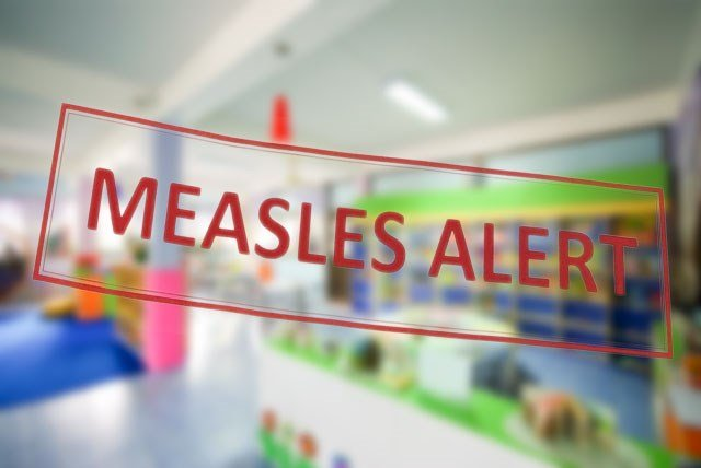 Three cases of measles have been confirmed in a Johnson County child care facility, the health department says. (KCTV5)