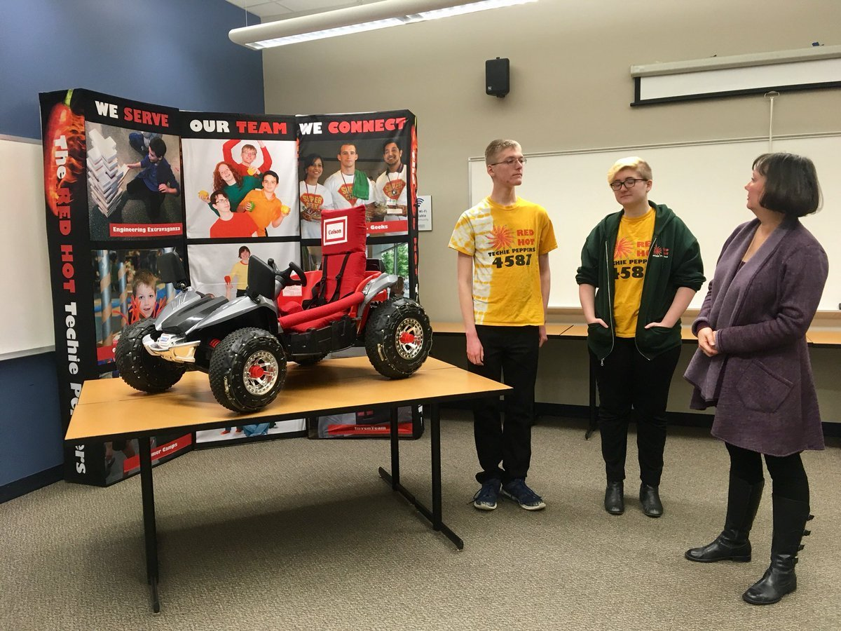 LEARN Science and Math Club and Rockhurst University are partnering up for its Geeks vs.Geekscompetition where they will modify battery-powered cars for children with disabilities. (Abigael Jaymes/KCTV5 News)