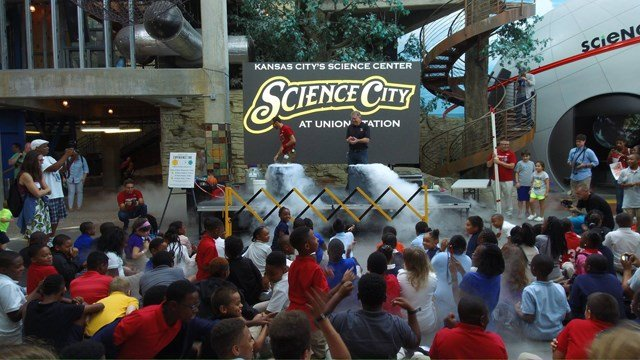 Science City offers 92,000 square-feet of fun and more than 300 interactive exhibits with something for everyone, no matter what age. (Facebook/Science City at Union Station)