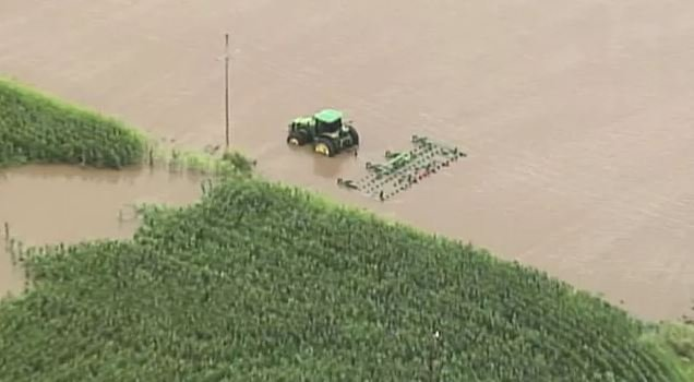 The damage has been estimated to exceed $300 million. (Chopper5 file photo)