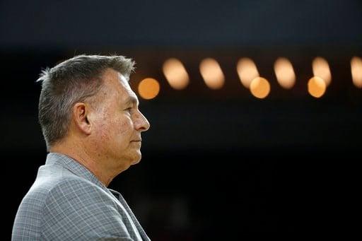 Marshall head coach Dan D'Antoni. (AP)