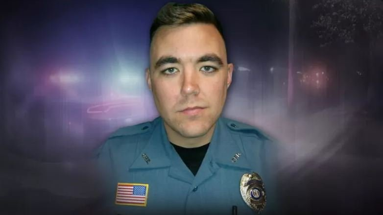 Officer Christopher Ryan Morton, a 30-year-old who had served in the Army, was fatally shot while trying to apprehend the suspect. (Missouri State Highway Patrol)