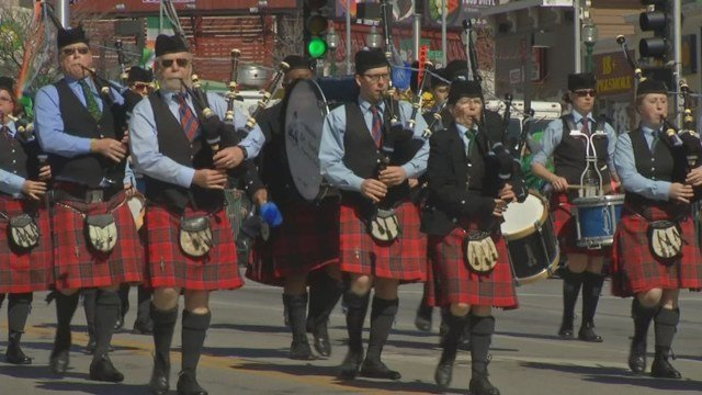 Saturday's festivities include the famed Kansas City St. Patrick's Day Parade, featuring elaborate floats, Irish dancers and a several-story-high St. Patrick. (KCTV5)