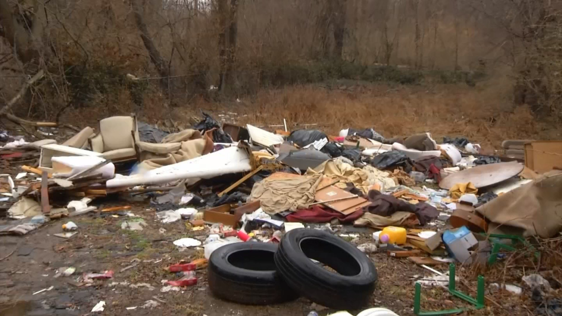 Illegal dumping investigators say millions are spent cleaning up illegal dumping areas throughout the year.  (KCTV5)
