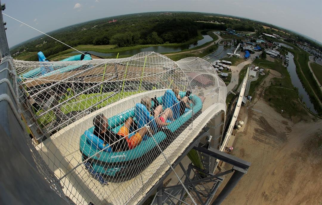 Charges filed after young boy's decapitation on 168-foot water slide