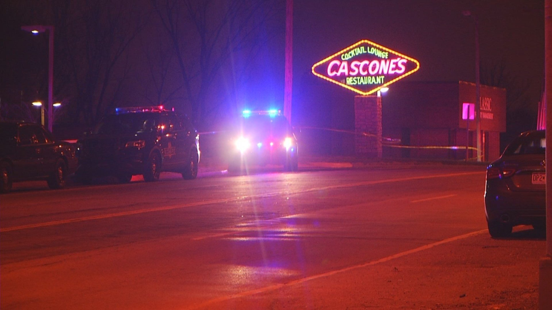 A man was found dead in a parking lot night near 37th Street and North Oak Trafficway. (KCTV5)