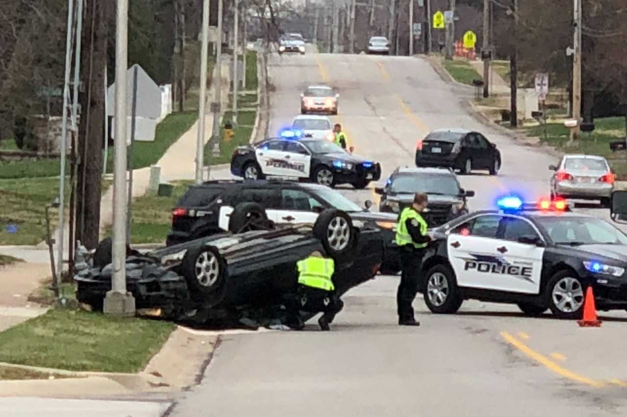 The wreck happened at 63rd and Hallet in Shawnee. Brett Hacker/KCTV5