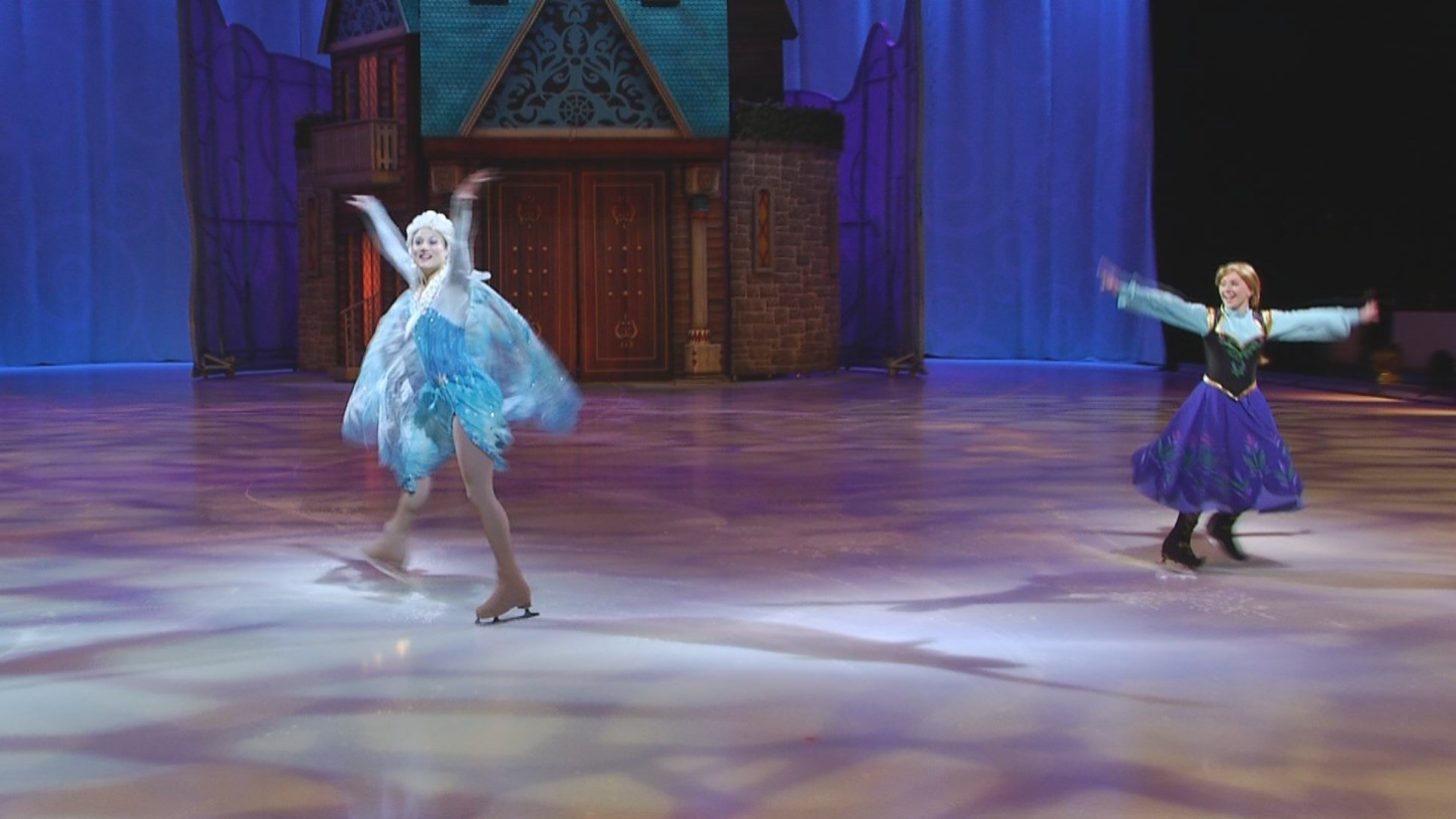 It's a winter wonderland inside the Sprint Center as thestage is set for Disney on Ice, and the action kicks off Wednesday night. (KCTV5)