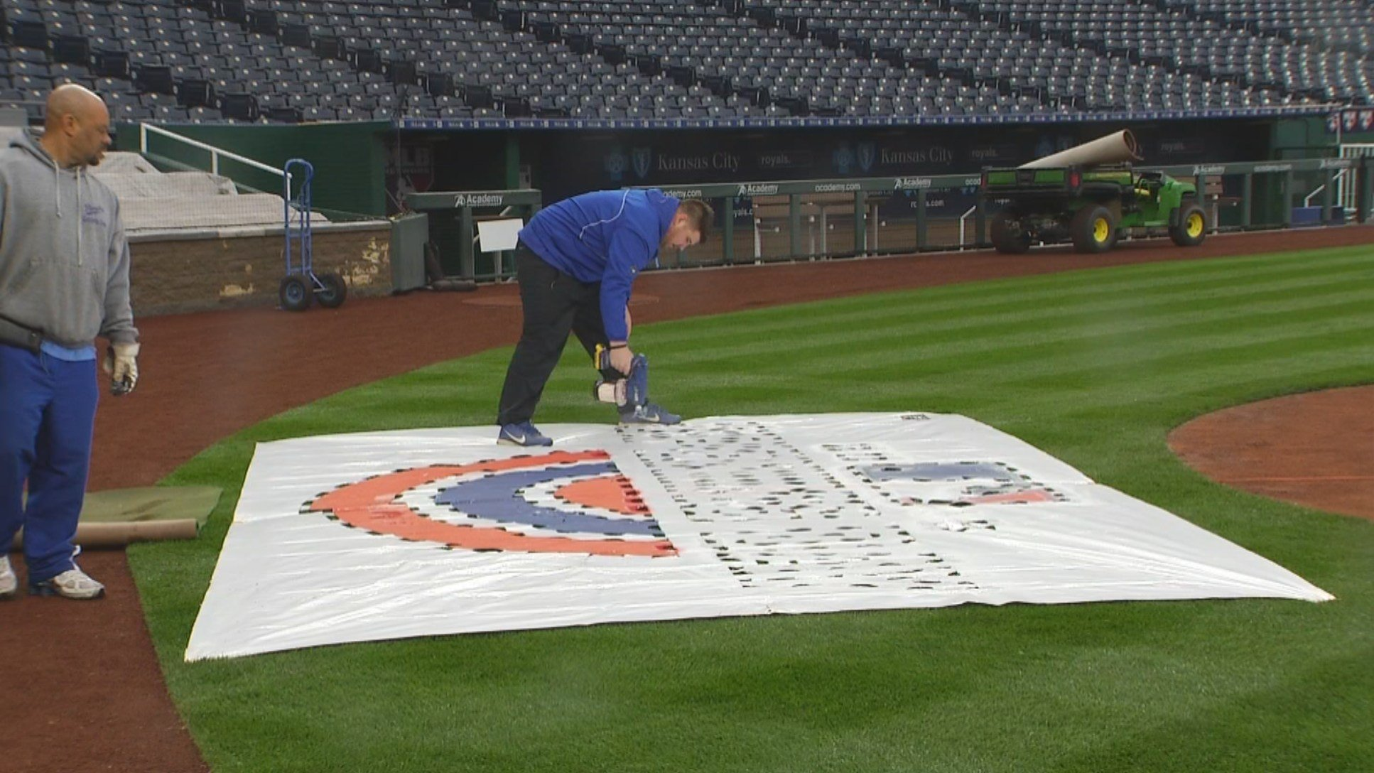 The Royals and White Sox prepare to open a three-game series. (KCTV5)