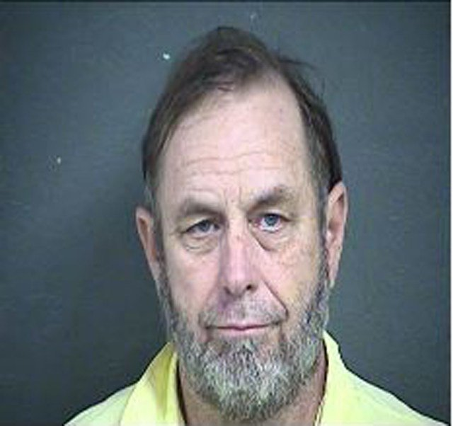 Schlitterbahn co-owner Jeffrey Henry arrived at the Wyandotte County jail at about 1:30 a.m. Wednesday. (Wyandotte County)