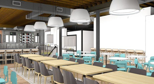 The district plans to debut food hall Parlor KC in August of 2018. (KCTV5)