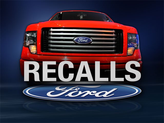 Ford is recalling about 350,000 trucks for a problem that could cause them to roll even after the driver shifts into park. (AP)