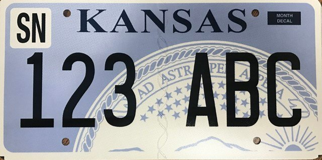 The new plates will carry the same designs currently offered but will be flat instead of embossed. (KDOR)