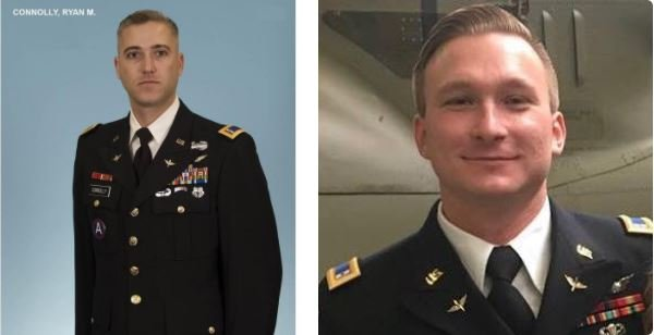 The Army has identified two soldiers killed in a helicopter crash Friday night in Kentucky as Chief Warrant Officer 3 Ryan Connolly, 37, and Warrant Officer James Casadona, 28.
