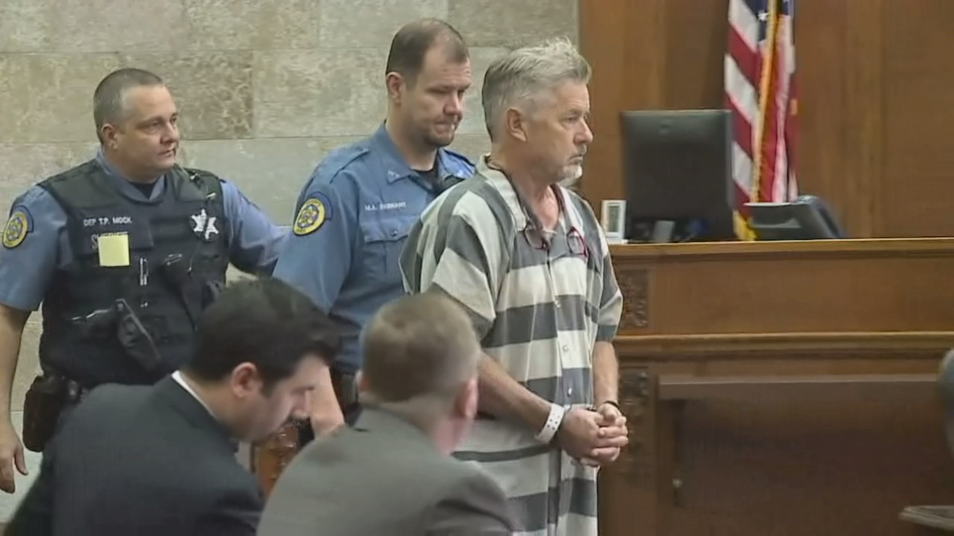 John Schooley, who designed the Verruckt slide for the Schlitterbahn Water Park in Kansas City, KS made his first court appearance Monday in the 2016 death of Caleb Schwab. (Pool)