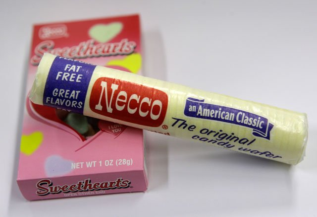 There's a big run on Necco Wafers, the colorful candies made by a Massachusetts company. (AP)