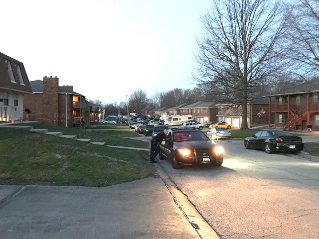 Police are investigating after two men were found murdered inside an apartment early Thursday morning. (KCTV5)
