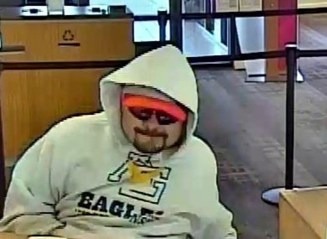 It happened at about 10:40 a.m. at the Bank of America located at 2728 Vivion Road. (FBI)