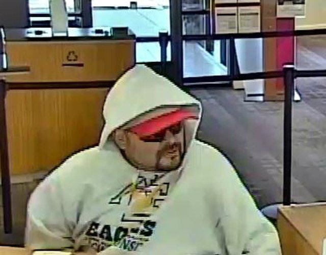 Agents say a man, approximately 30 years old, walked into the bank, displayed a handgun and made an oral demand for cash. (FBI)