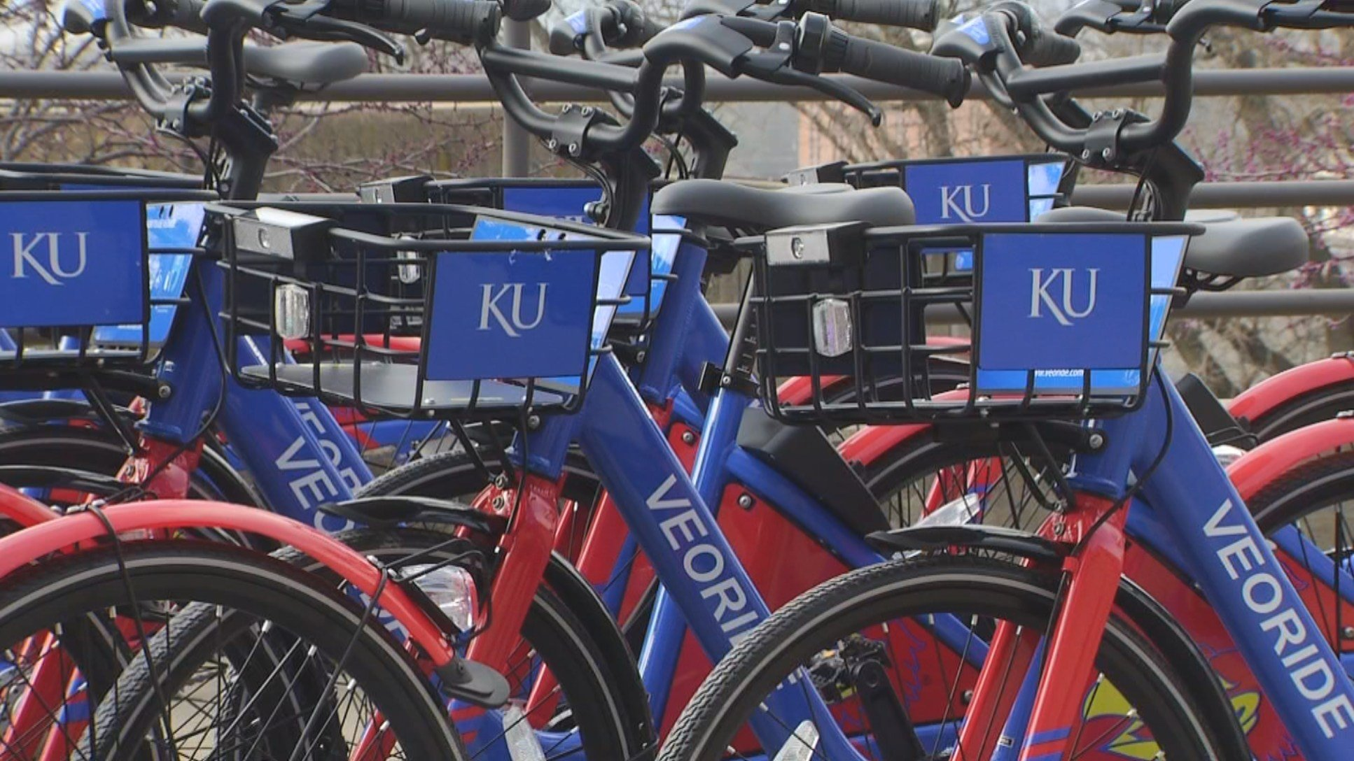 A new bike share program is putting KU on the map. The VeoRide bikes are the first dock-less bicycles in Kansas. (KCTV5)