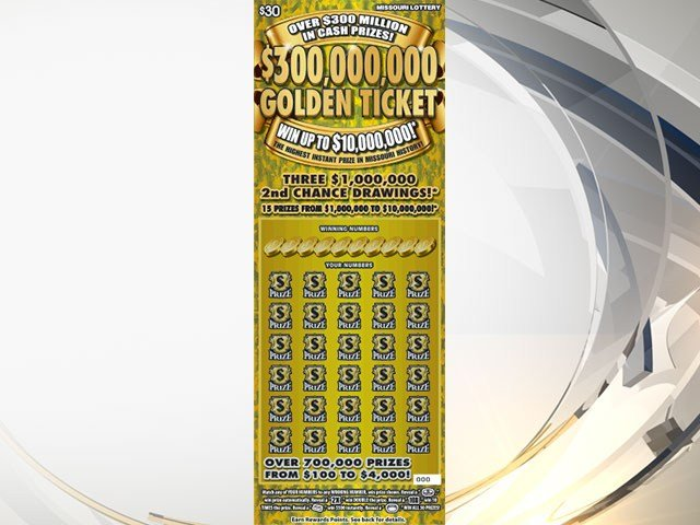 Raytown man wins 50000 on scratch off ticket kctv5 news 300000000 golden ticket is a 30 game that started in jan 2016 the sciox Image collections