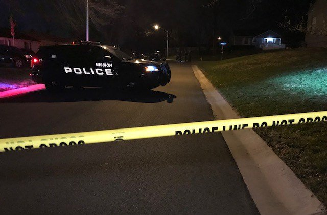 The shooting happened at about 6:55 p.m. in the 6400 block of W 61st Street. (KCTV5)