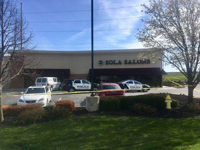 Police were called at about 7:30 a.m. to Sola Salons in the 600 block of Northwest Murray Road. (Abigale Jaymes/KCTV5 News)