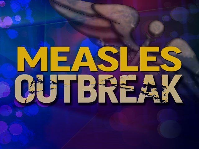 The number of possible measles exposure locations is growing. (AP)