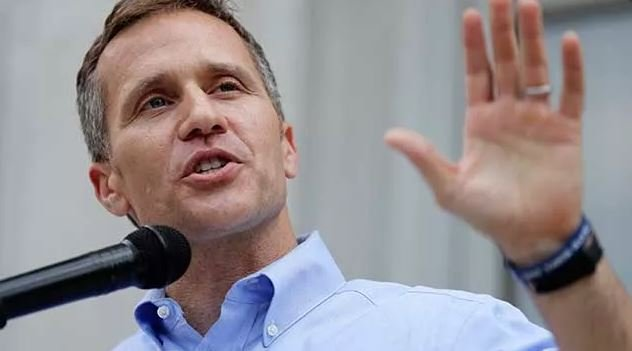 Greitens' legal team says it's inappropriate for Hawley to investigate the governor since he has called for the state's head official to resign. (AP Photo/Jeff Roberson)