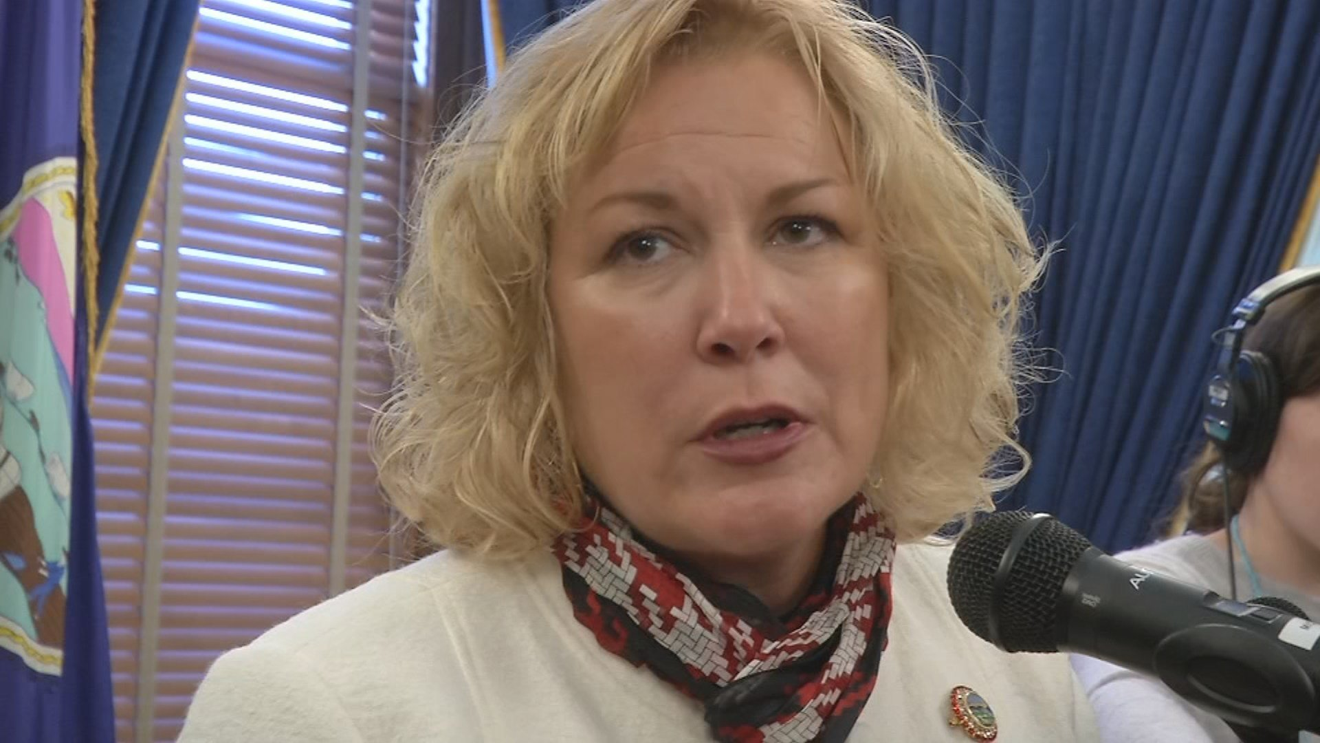 Department for Children and Families Secretary Gina Meier-Hummel outlined initiatives Monday that would cost $24 million over three years. (KCTV5)