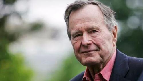 President George H.W. Bush (file)