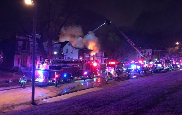 The fires started shortly before 8:55 p.m. Monday. (KCTV5)