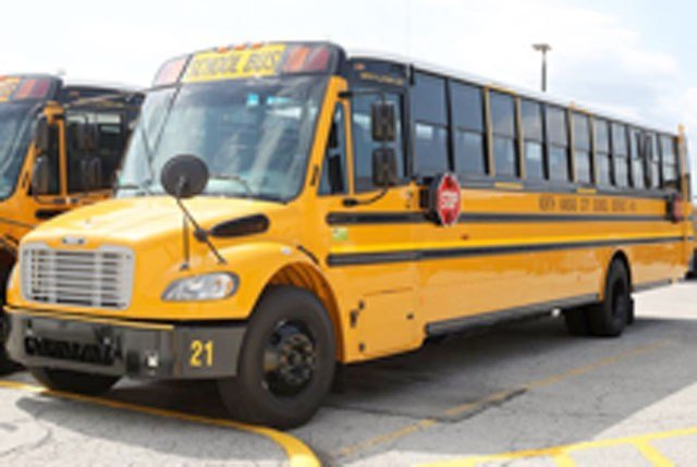 North Kansas City Schools can now say its students are riding in some of the safest buses in the state. (NKC Schools)