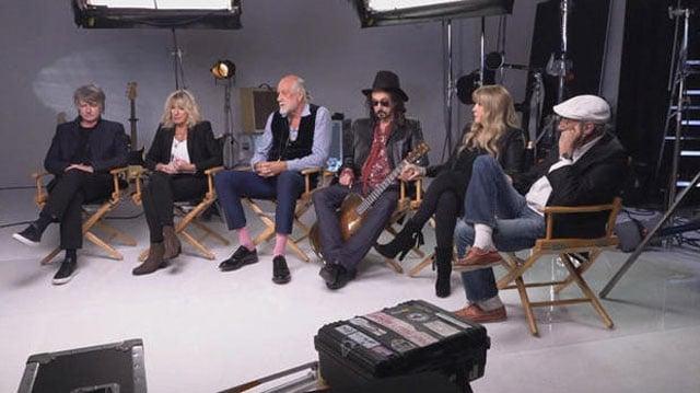 The new lineup of Fleetwood Mac. (CBS NEWS)
