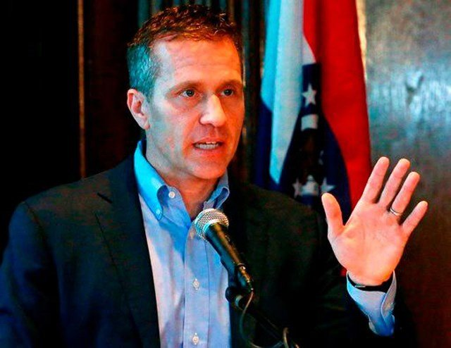 Judge hears Greitens restraining order request against Hawley