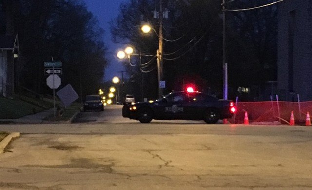 The standoff started justbefore 4 a.m. after officers received a call about a weapons disturbance in the area 62nd Street and Swope Parkway. (KCTV5)