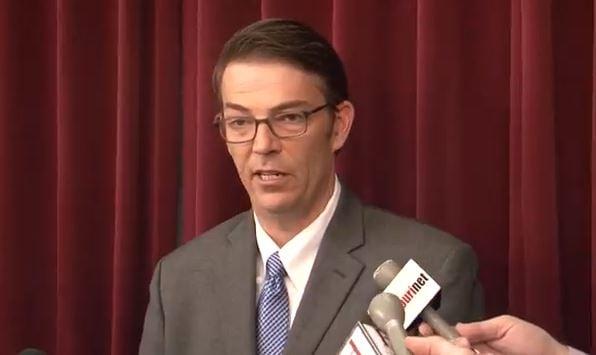 Missouri Speaker of the House Todd Richardson. (Souce:  MOHOUSECOMM on YouTube)