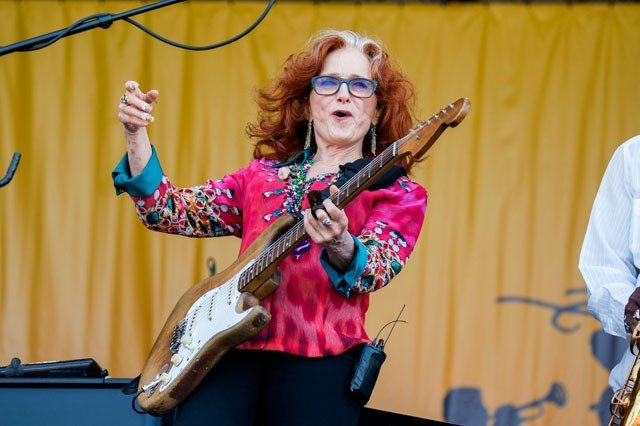 Due to an unexpected medical condition that requires immediate attention, Bonnie Raitt will no longer join James Taylor for the first portion of his summer tour. (AP)