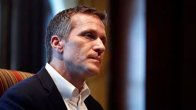 Greitens is accused of taking a photo of a woman he was having an affair with while she was partially nude and then threatening to share the photo if she spoke about the affair. (File photo)