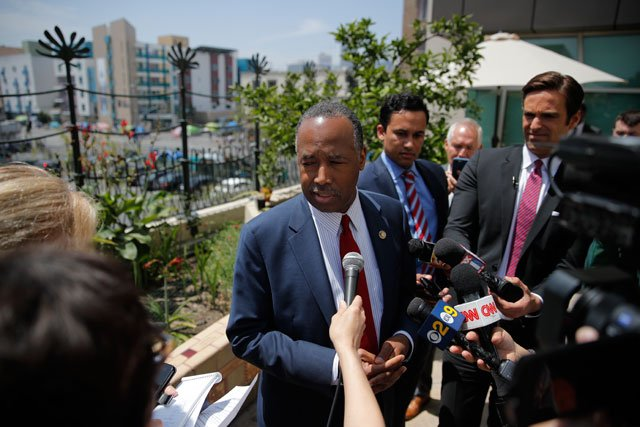 Millions of families living in federally subsidized public housing would pay more for rent under a proposal unveiledby Housing and Urban Development Secretary Ben Carson. (AP)
