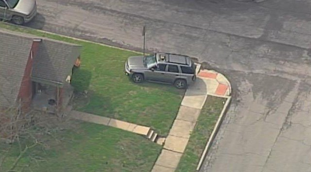 The chase began after the man allegedly carjacked an SUV. (KCTV5)
