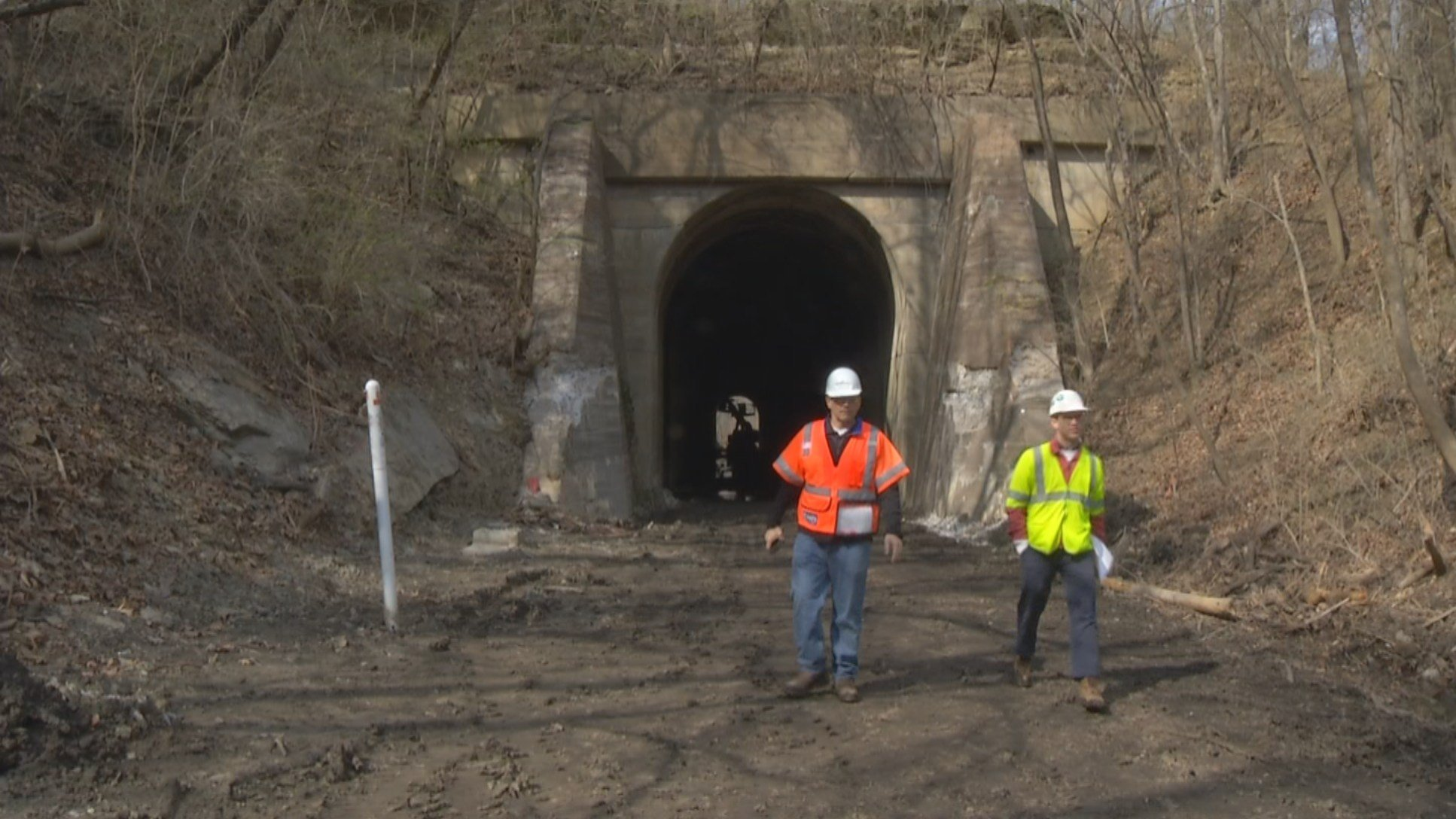 A bike trail currently under construction in Jackson County will eventually connect the Kansas City metro area to the Katy Trail. (KCTV5)