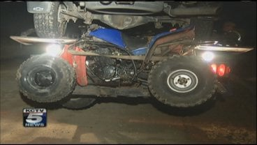 Two boys were critically injured in an all-terrain accident Monday afternoon.