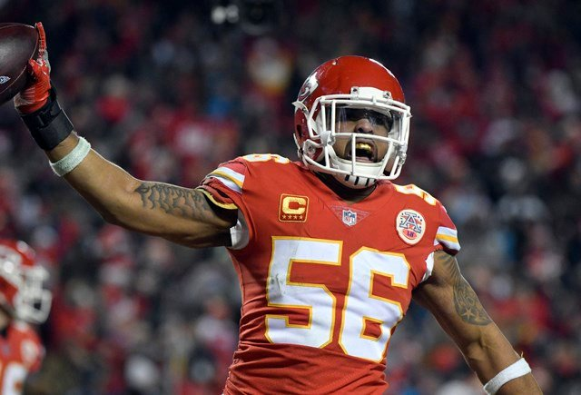 Former Chiefs LB Johnson signs with Raiders
